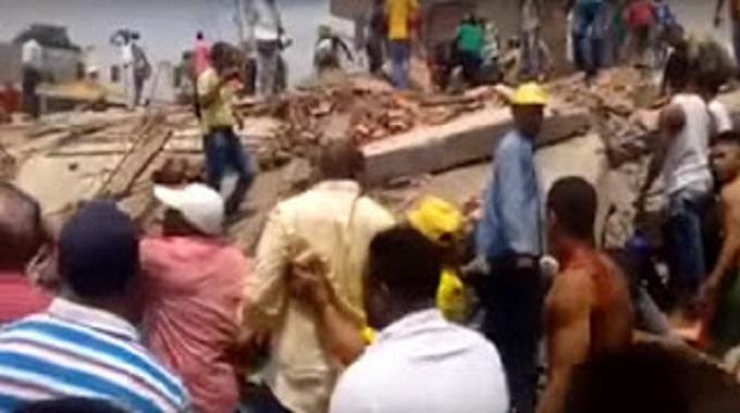 Desplome de edificio en Blas de Lezo