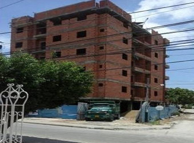 Desplome de edificio en Blas de Lezo2