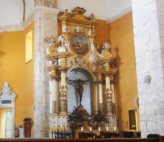 Leyenda del cristo de la expiación de la iglesia de santo domingo