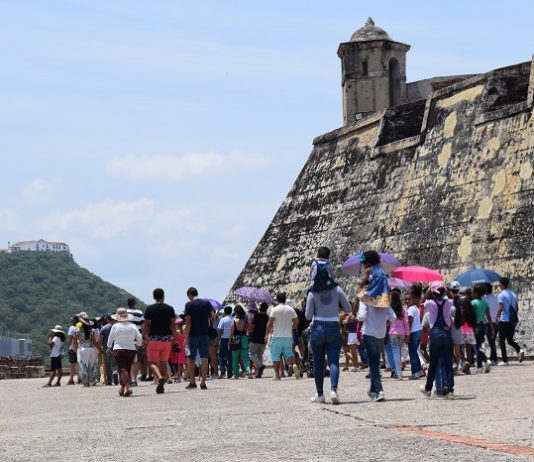 Record en día de entrada gratis a Fortificaciones de Cartagena