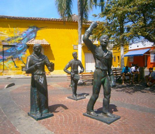 Plaza de la Trinidad Cartagena-de-indias