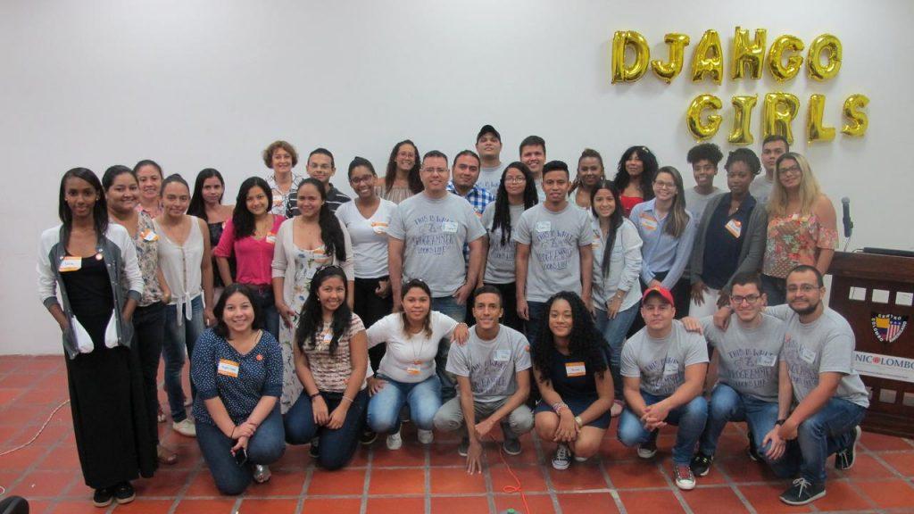 Django Girls Taller de programación en cartagena