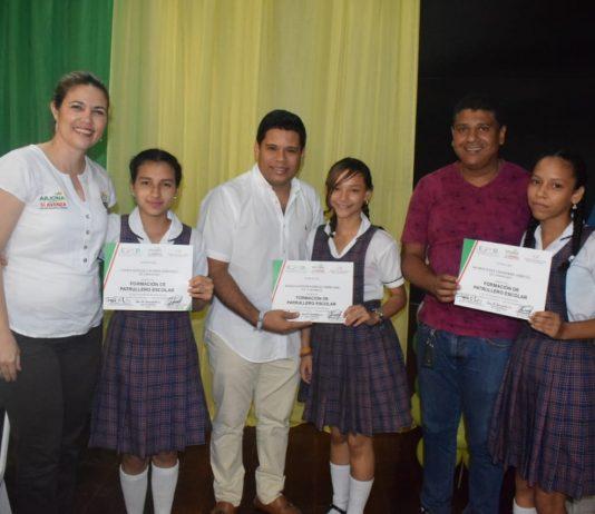 Esther María Jalilie García patrulleros escolares