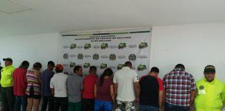 Miembros de Clan del Golfo capturados Sur de Bolívar
