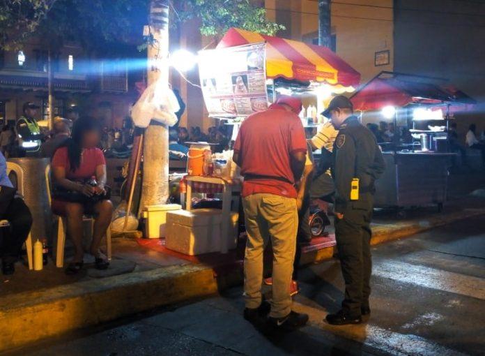 Operativos de control policias de cartagena