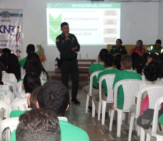 Policía de Bolivar-Comparendos