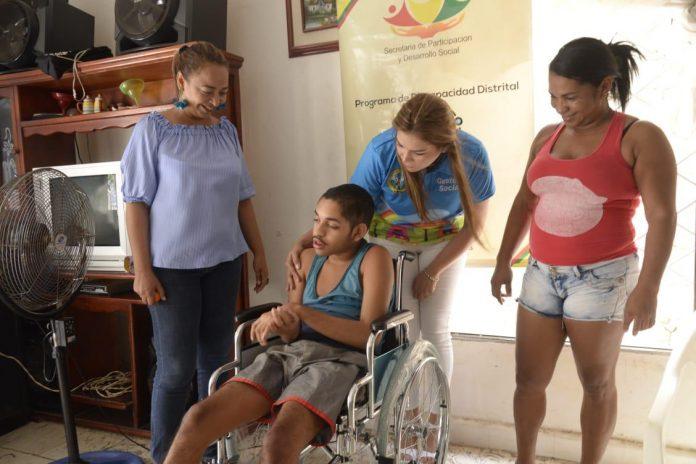Ayuda Técnica a personas con discapacidad