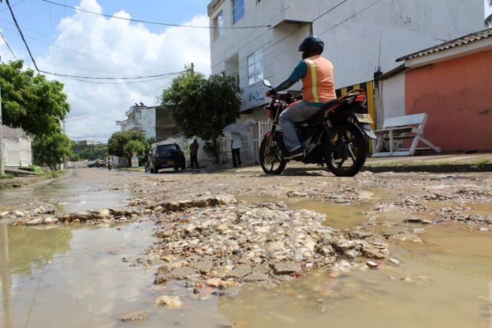 Calle Benjamín Herrera cartagena