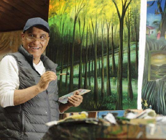 Henry Arias artista bogotano