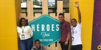 Jovenes Cartageneros participaron con sus ideas en el Heroes Fest 2018