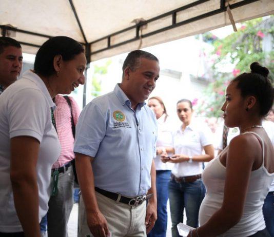 El Alcalde Pedrito Pereira caballero dio por iniciada la jornada de superación de la pobreza en Cartagena