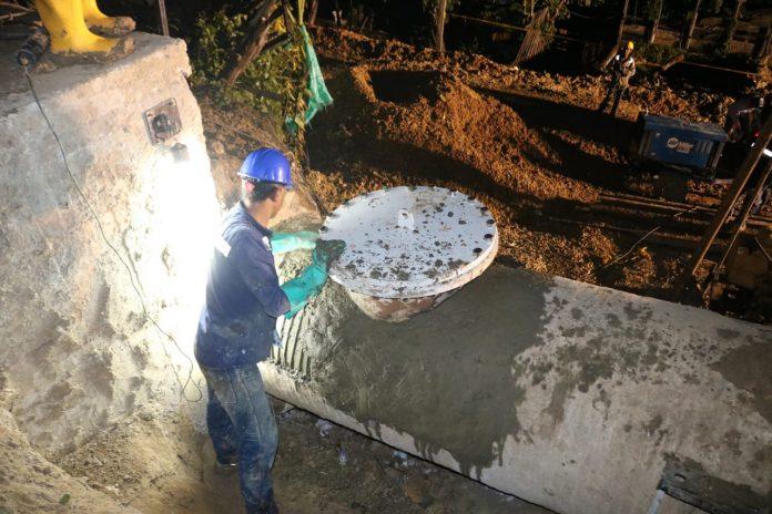 Reparación de acueducto cerro de albornoz