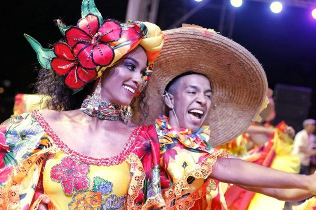 Ultimo preludio de las fiestas de independencia de Cartagena
