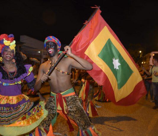Preludio Fiestas de independencia en barrio Blas de Lezo