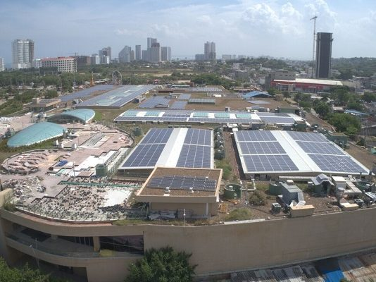 Mallplaza Celsia energia solar
