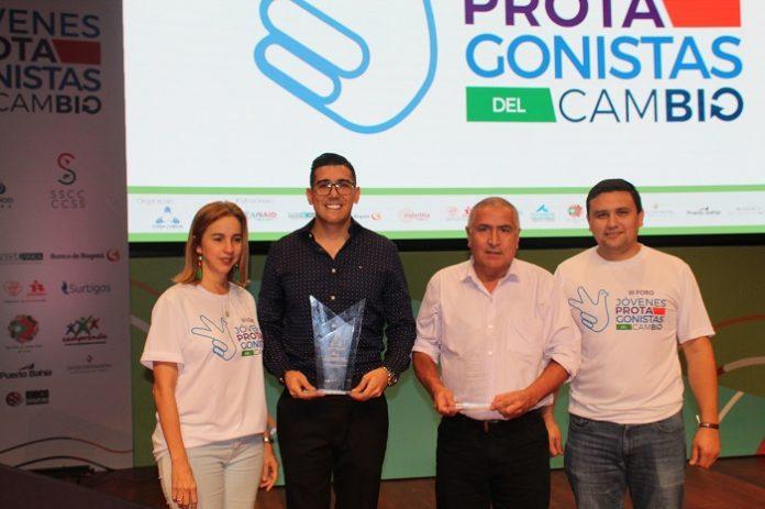 Maria claudia paez premios innovacion Bolívar