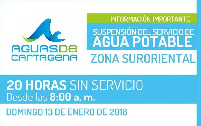 Suspención-servicio-de-Agua-cartagena