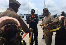 Inauguran nueva estación de Buceo de Guardacostas en Cartagena