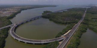 Inauguración del viaducto Gran Manglar en Cartagena