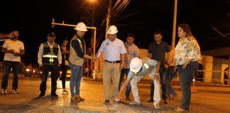 Reparcheo a vías de Cartagena