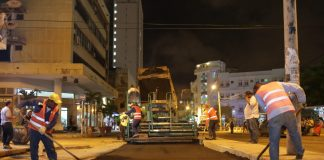Reparcheo avenida Daniel Lemaitre