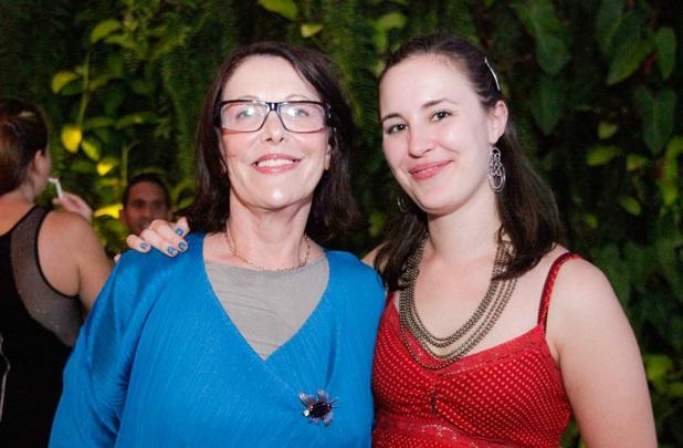 Berta Sichel y Eva Rick.